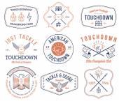 Amerikai futball jelvények és címerek vol 2 színes