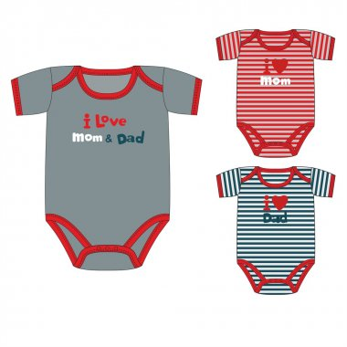 collection of clothes for newborn boy