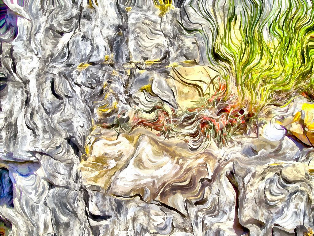 The beginning of spring, abstract background,
