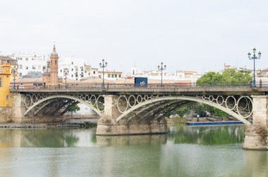 The bridge of Isabel II (Triana bridge), Sevilla, Spain.