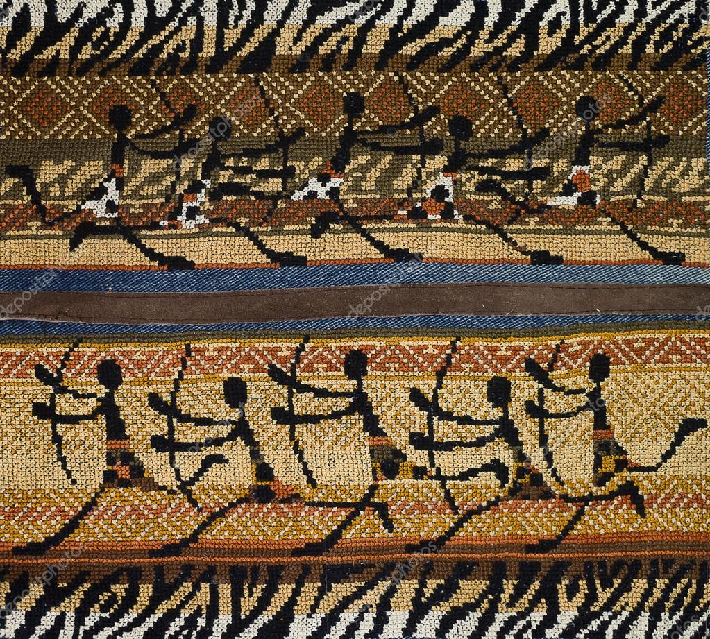 patrones de bordado africano — Foto de stock © tillottama #75771331