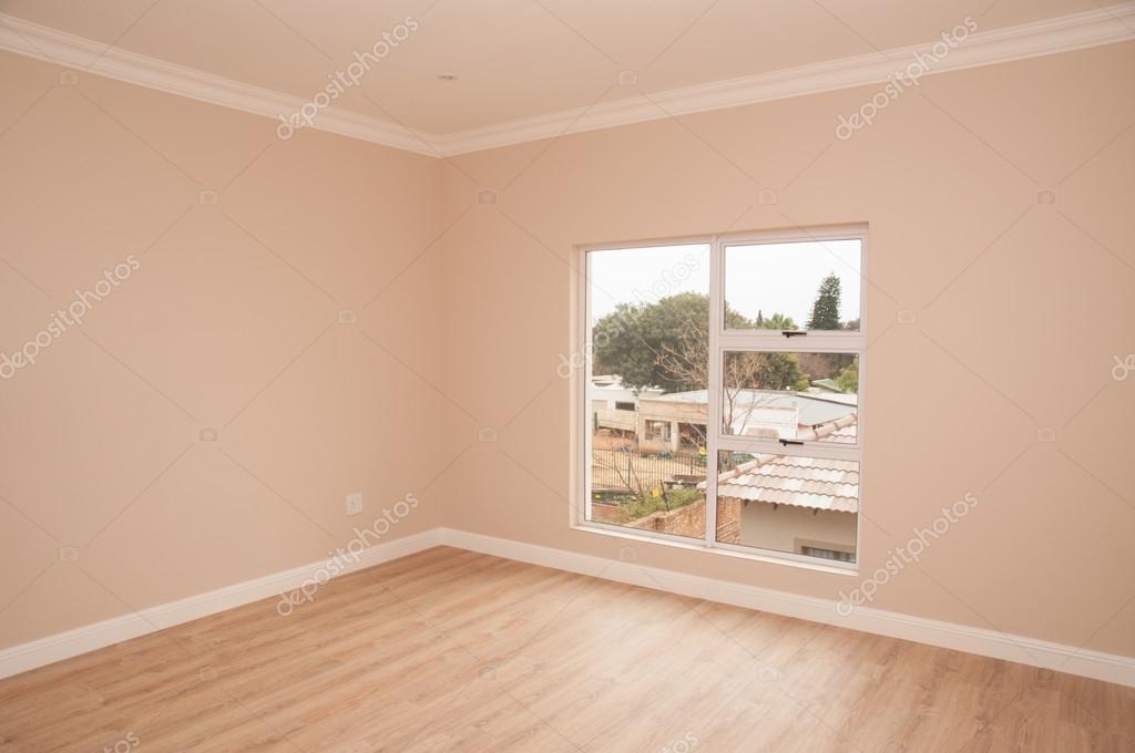 Camera da letto aperta di nuova casa foto stock for Nuova costruzione 4 case di camera da letto