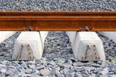 Railroad rails and ties