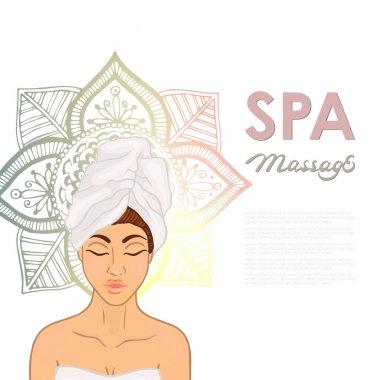 massage vector image
