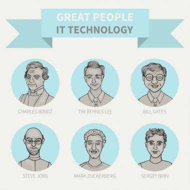 Great people in the field of IT technologies
