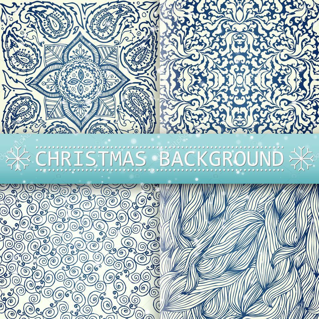 christmas card vector image