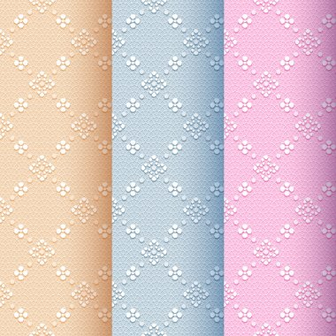 Vintage seamless classic pattern