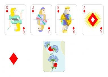 playing cards bubi