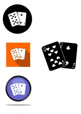 the playing cards