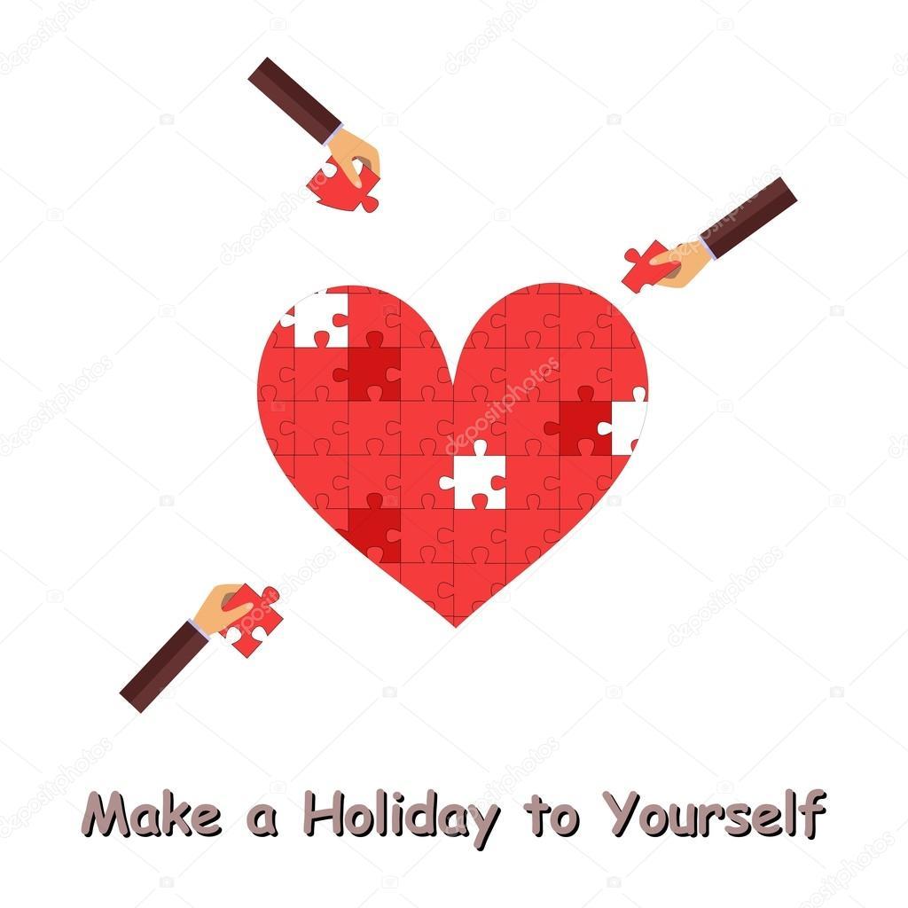Rätsel Und Valentinstag Stockvektor Caribia 94451646