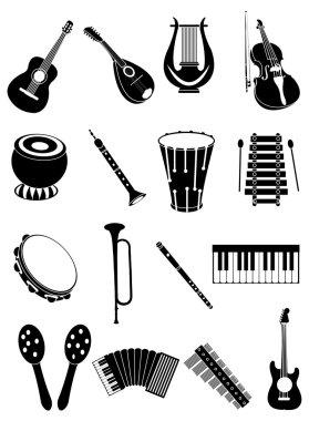 Music Instrument Icon Set