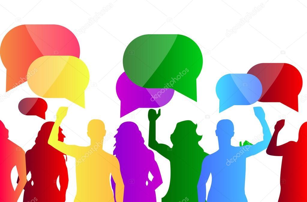 Resultado de imagen para dialogo entre personas