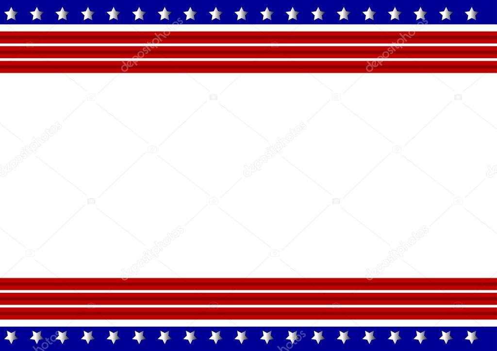 marco patriótico — Vector de stock © sdp_creations #59615303