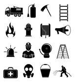 Tűzoltó ikonok beállítása