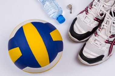 Volleyball set.