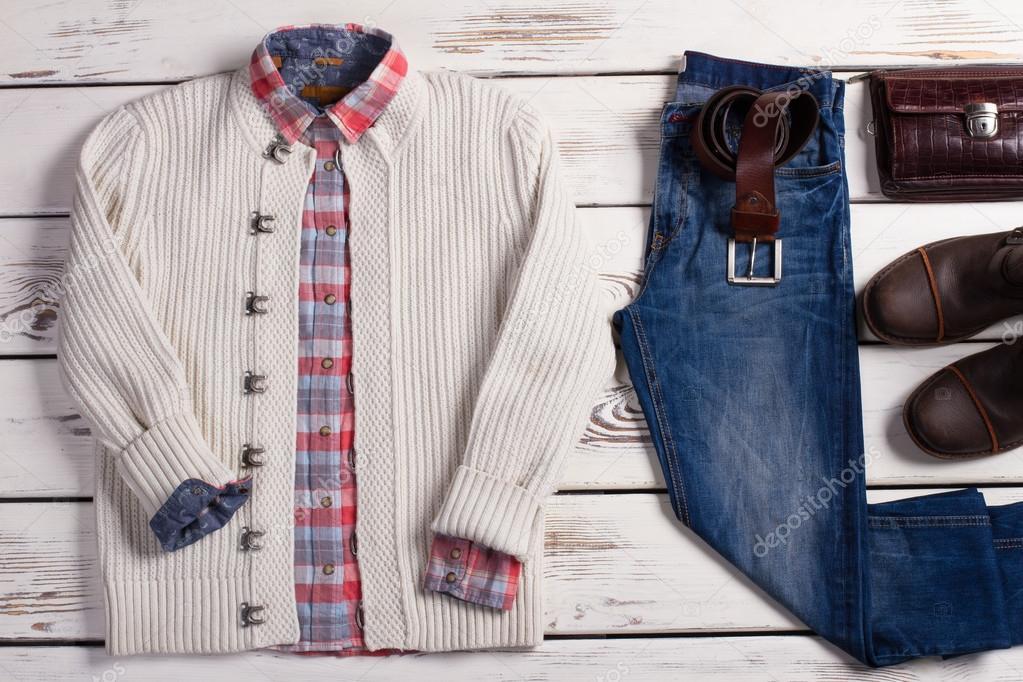 9e5b226fac38 Ανδρικά ρούχα και αξεσουάρ — Φωτογραφία Αρχείου © margostock  95509944
