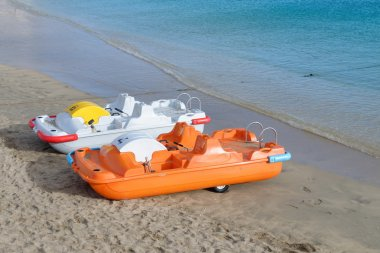 Pedal boats for rent