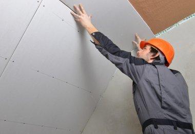 Certified electrician worker