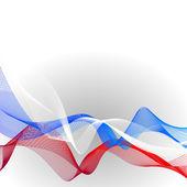 Fotografia Fondo lineare del modello di vettore con tricolore per celebrare 12 giugno - Festa dellindipendenza di russo e 4 novembre - giorno di gloria militare