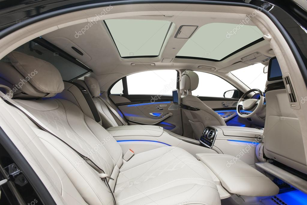 Car Luxury Interior Detailing Service U2014 Stock Photo