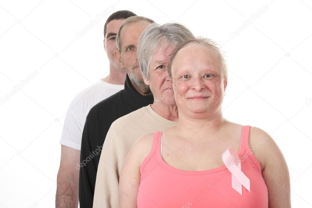 man holding womans breast