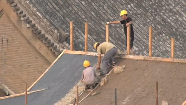 Javítása A tető Pekingben