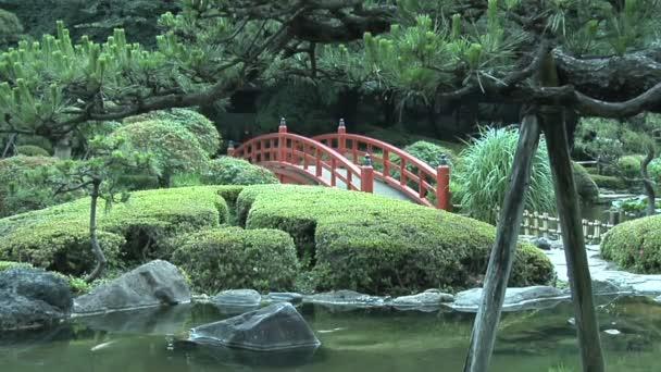 Tradiční japonská zahrada a krajina