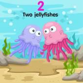 Ilustrátor číslo dvě jellyfishes