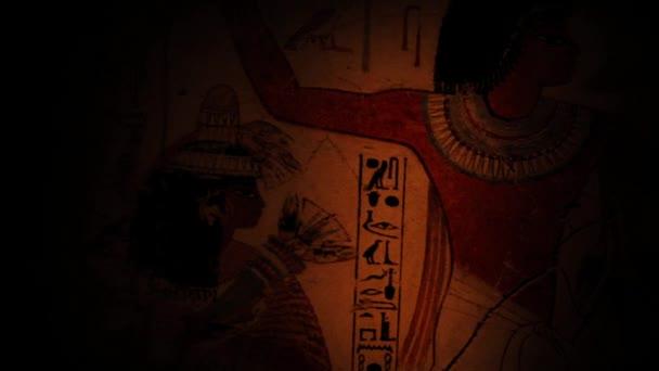 Přenesme se přes nástěnné malby starého Egypta