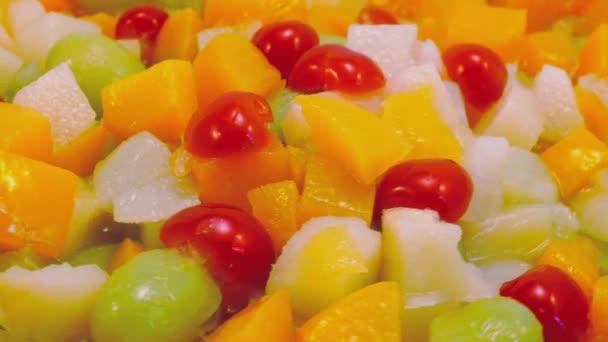 Rotující ovoce salát