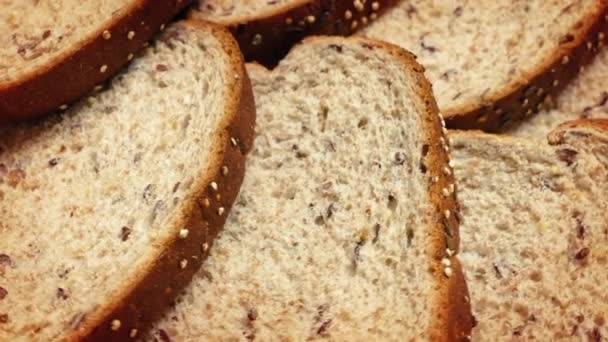 Bread Slices Rotating