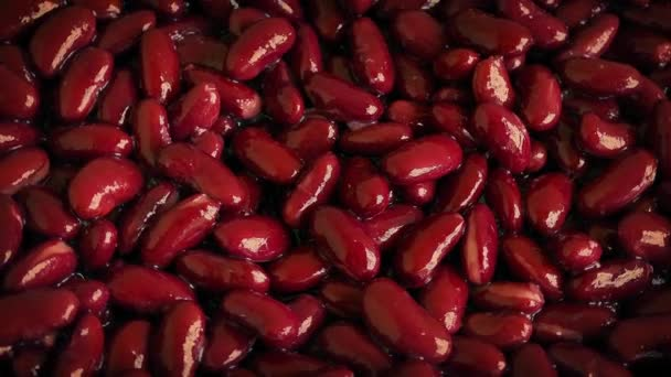 Rote Nierenbohnen rotieren