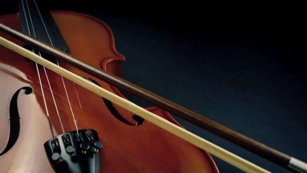 Hegedű és íj Művészi mozgó lövés