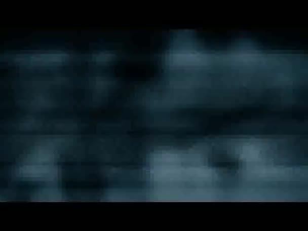 Schlechtes TV-Signal mit unscharfen Bildern Schwarz-Weiß