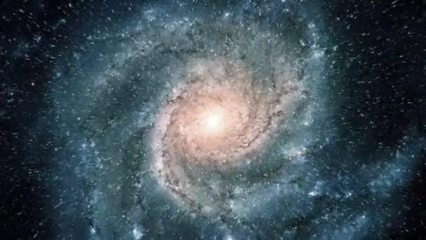 Letu do spirální galaxie