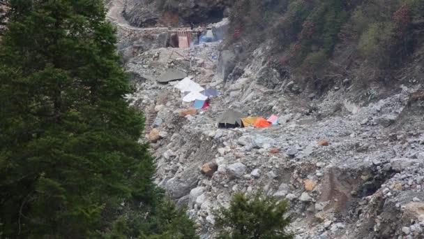 Po katastrofě v chrámu Kedarnath Indie.