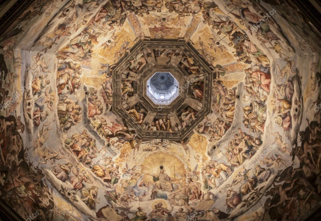 Cupola Of Cathedral Santa Maria Del Fiore Duomo In Florence Stock Photo Image By Mikolajn 56908017