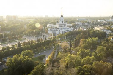 Park VDNH in Moscow, Russia