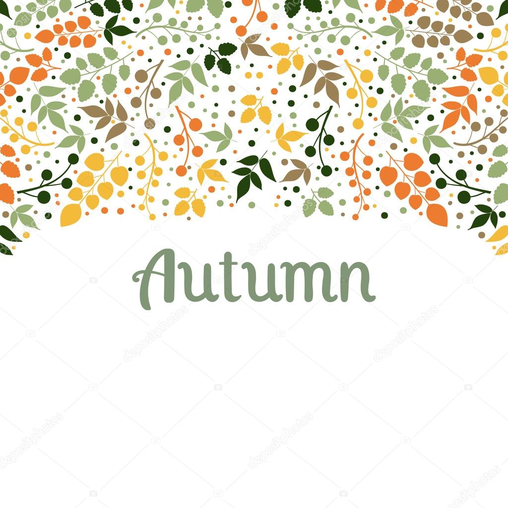 Autumn Falling Leaves Backgroundcan Be Used For Wallpaperdesign Of
