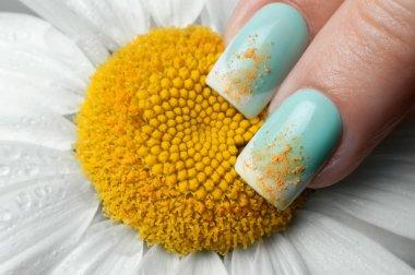Beautiful manicure.