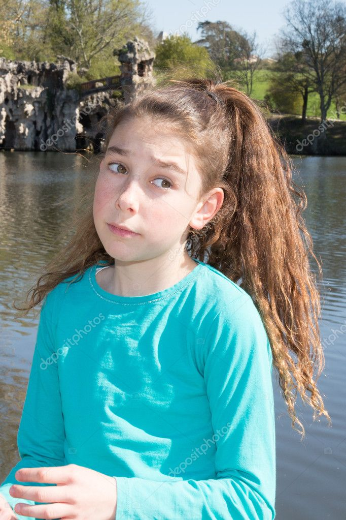 Mädchen 10 Jahre Alt Stockfoto Sylv1rob1 70407009