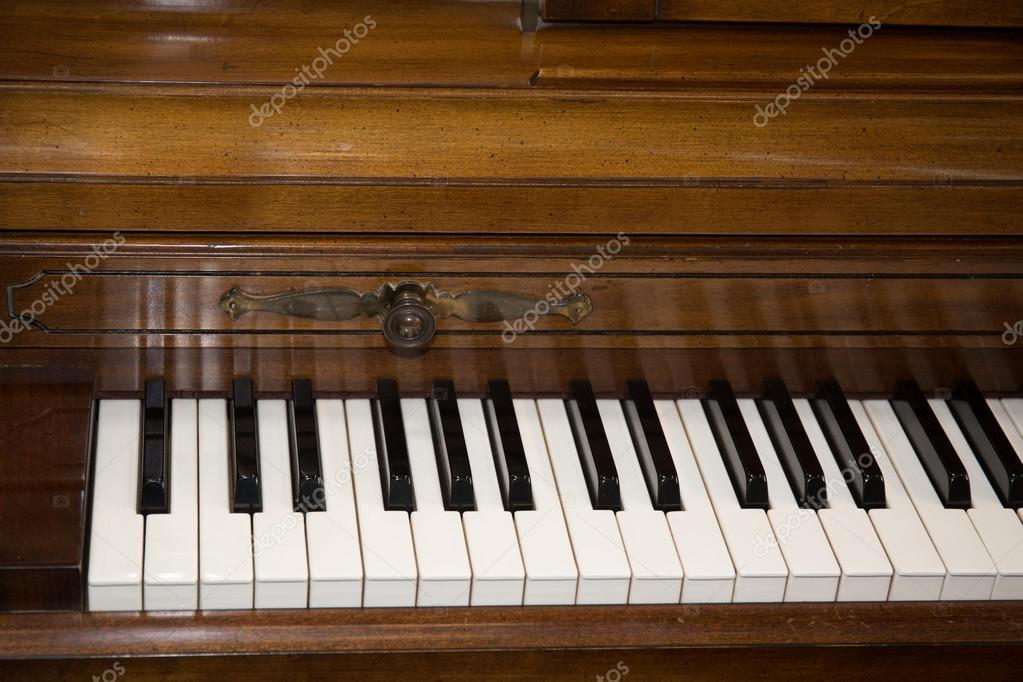 Piano keys viewed from above — Stock Photo © OceanProd #72775683