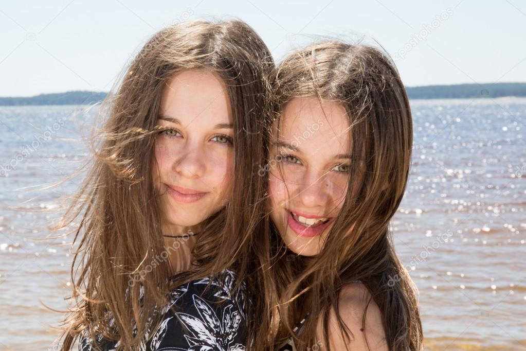 young-teen-twin-girl