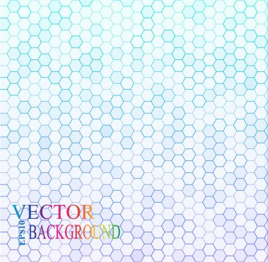 Seamless texture gray hex grid. Vector Illustration.