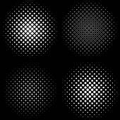 Fotografie Halbton-Frames 4 Halbton Frame Mustersatz