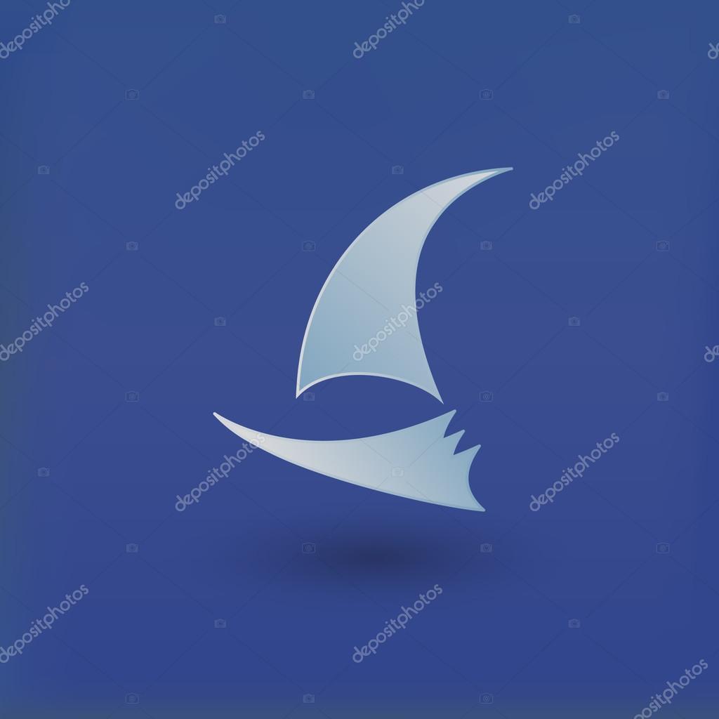 Vector yacht club logo