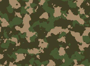 Seamless woodland camo pattern vector eps 10 vector illustration clip art vector
