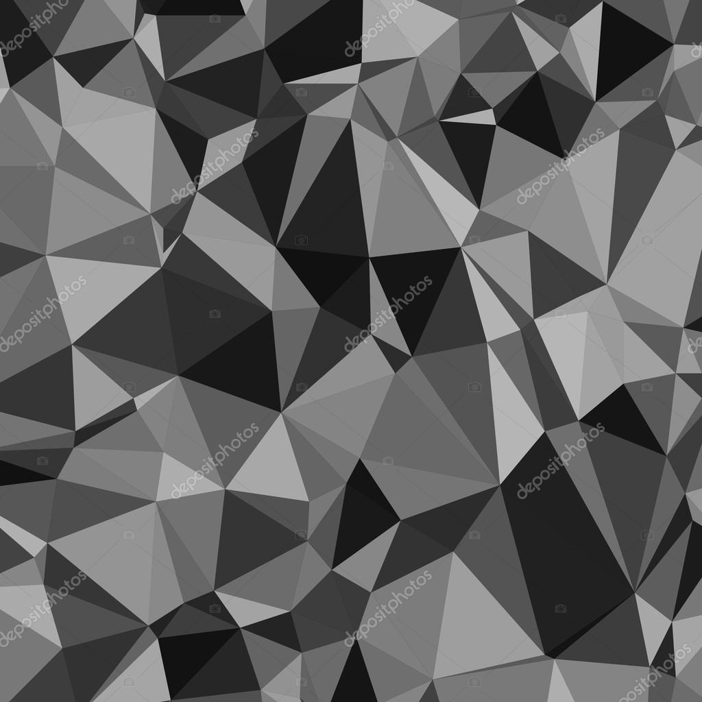 Abstrait Triangle Noir Et Blanc Motif Papier Peint Design Fond
