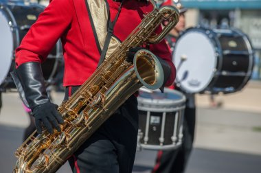 Brass of the marching band