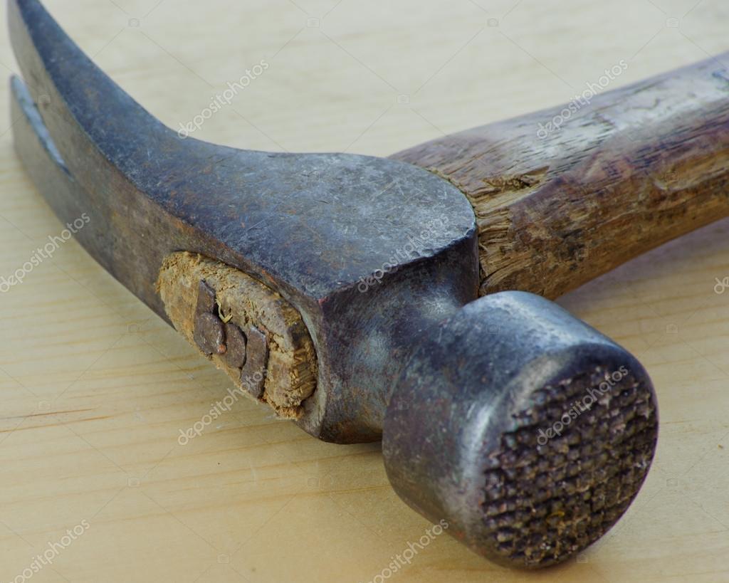 Un martillo de encuadre de California — Foto de stock ...